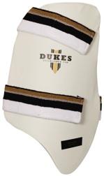 LH Available RH Dukes Legend Cricket Inner Thigh Pads White Mens